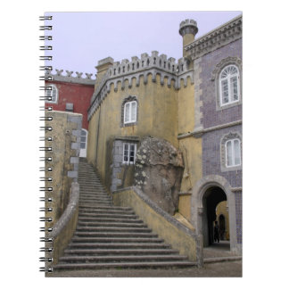 Europe, Portugal, Sintra. The Pena National 2 Notebook
