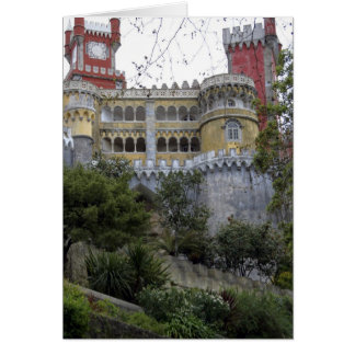 Europe, Portugal, Sintra. The Pena National 3 Greeting Card