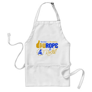 Europe Rocks! apron - choose style