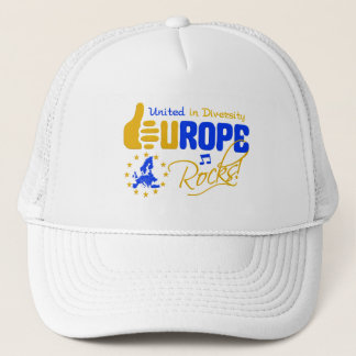 Europe Rocks! hat - choose color
