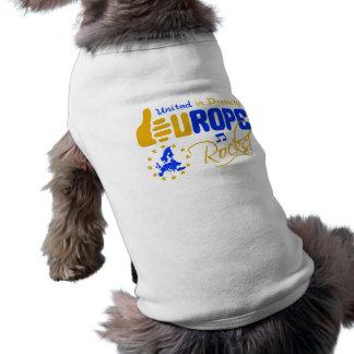 Europe Rocks! pet clothing
