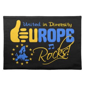 EUROPE ROCKS placemat