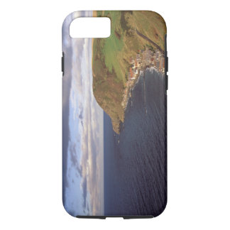 Europe, Scotland, Aberdeen. Overhead view of iPhone 8/7 Case