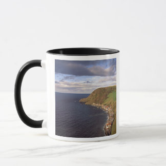 Europe, Scotland, Aberdeen. Overhead view of Mug