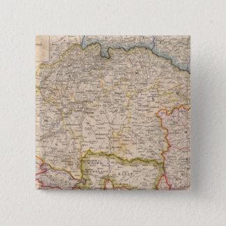 Europe, Slovakia, Hungary 15 Cm Square Badge
