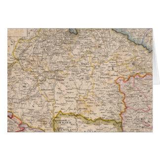 Europe, Slovakia, Hungary Card