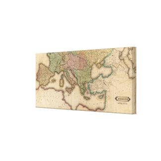 Europe south canvas print