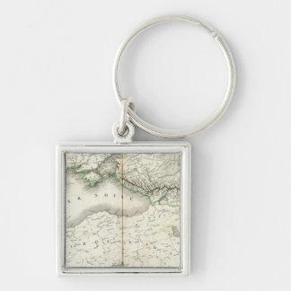 Europe Southeast Key Ring