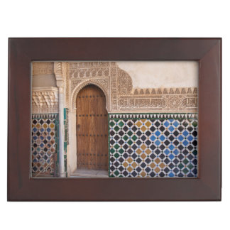 Europe, Spain, Andalusia, Granada, Alhambra Keepsake Box