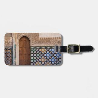 Europe, Spain, Andalusia, Granada, Alhambra Luggage Tag