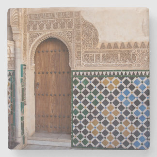 Europe, Spain, Andalusia, Granada, Alhambra Stone Coaster