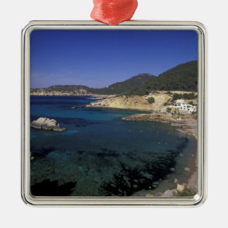 Europe, Spain, Balearics, Ibiza, Cala de Christmas Ornament