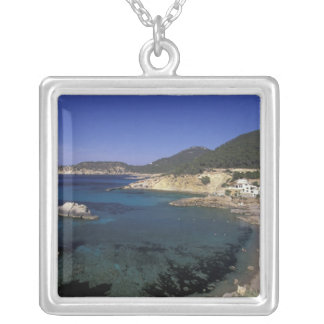 Europe, Spain, Balearics, Ibiza, Cala de Silver Plated Necklace
