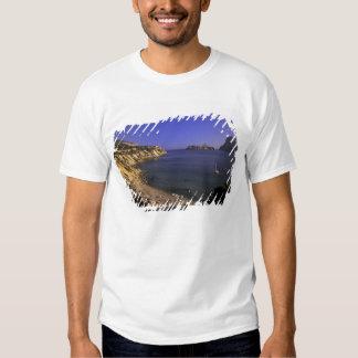 Europe, Spain, Balearics, Ibiza, Cala d'Hort T-shirts