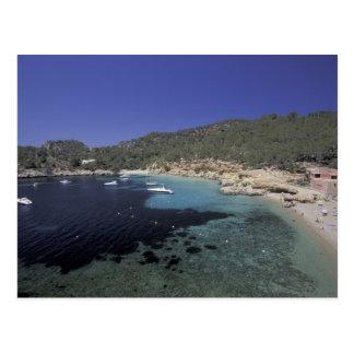 Europe, Spain, Balearics, Ibiza, Cala Salada. Postcard