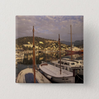 Europe, Spain, Balearics, Mallorca, Port de 15 Cm Square Badge