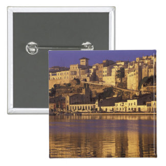 Europe, Spain, Balearics, Menorca, Mao. Dawn 15 Cm Square Badge