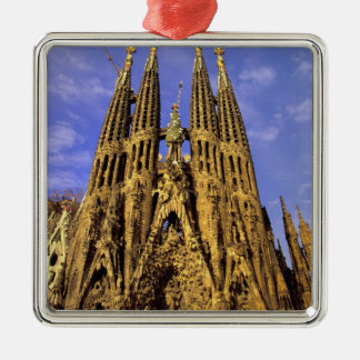 Europe, Spain, Barcelona, Sagrada Familia Christmas Ornament