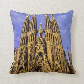 Europe, Spain, Barcelona, Sagrada Familia Cushion