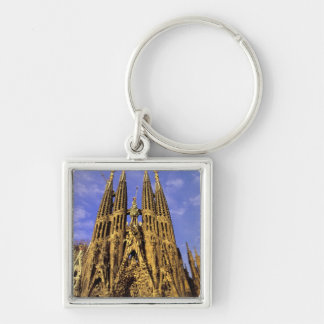 Europe, Spain, Barcelona, Sagrada Familia Key Ring