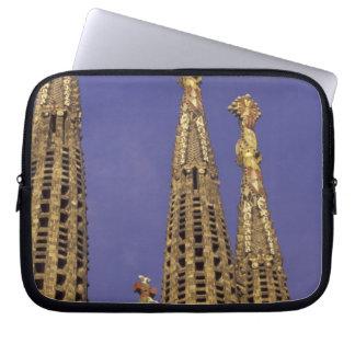 Europe, Spain, Barcelona Sagrada Familia Laptop Sleeve