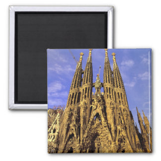 Europe, Spain, Barcelona, Sagrada Familia Magnet