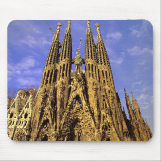 Europe, Spain, Barcelona, Sagrada Familia Mouse Mat
