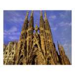 Europe, Spain, Barcelona, Sagrada Familia Poster