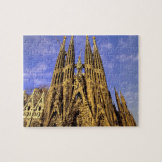 Europe, Spain, Barcelona, Sagrada Familia Puzzle