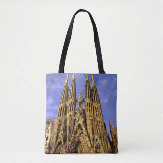 Europe, Spain, Barcelona, Sagrada Familia Tote Bag