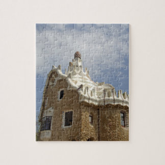 Europe, Spain, Catalunya, Barcelona. Park Guell, Jigsaw Puzzle
