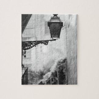 Europe, Spain, Mallorca. Street lamps, Palma Jigsaw Puzzle