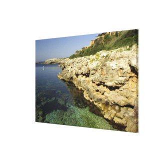 Europe, Spain, Minorca (aka Menorca), Binibeca. 2 Canvas Print