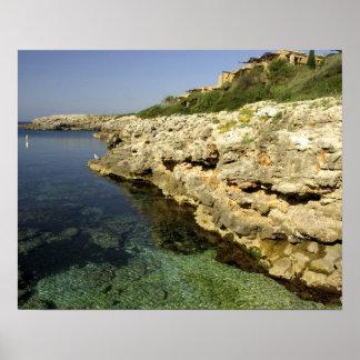 Europe, Spain, Minorca (aka Menorca), Binibeca. 2 Poster