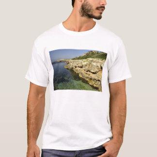 Europe, Spain, Minorca (aka Menorca), Binibeca. 2 T-Shirt