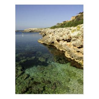Europe, Spain, Minorca (aka Menorca), Binibeca. Postcard