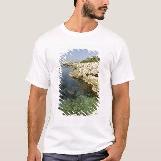 Europe, Spain, Minorca (aka Menorca), Binibeca. T-Shirt