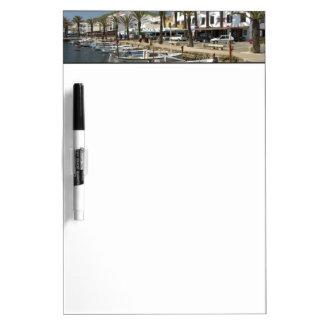 Europe, Spain, Minorca (aka Menorca). Fishing Dry Erase Board