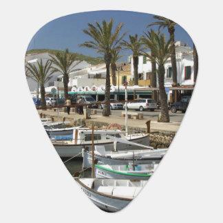 Europe, Spain, Minorca (aka Menorca). Fishing Guitar Pick