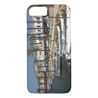Europe, Spain, Minorca (aka Menorca). Fishing iPhone 8/7 Case