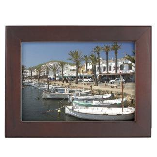 Europe, Spain, Minorca (aka Menorca). Fishing Keepsake Boxes