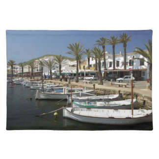 Europe, Spain, Minorca (aka Menorca). Fishing Placemat