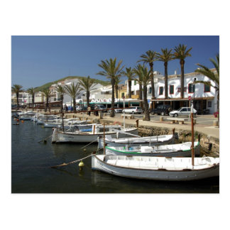 Europe, Spain, Minorca (aka Menorca). Fishing Postcard