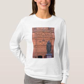 Europe, Spain, Salamanca. Coats-of-arms and T-Shirt