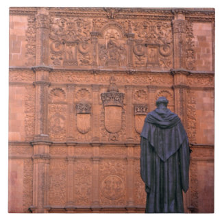 Europe, Spain, Salamanca. Coats-of-arms and Tile