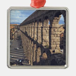 Europe, Spain, Segovia. Late light casts shadows Christmas Ornament
