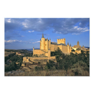 Europe, Spain, Segovia. The Alcazar, a World Photographic Print