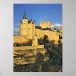 Europe, Spain, Segovia. The imposing Alcazar, Poster