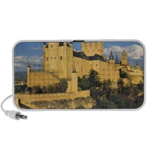 Europe, Spain, Segovia. The imposing Alcazar, iPhone Speaker