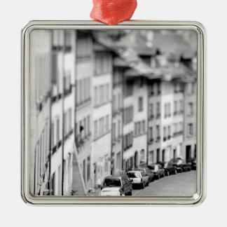 Europe, Switzerland, Bern. Old City buildings Christmas Ornament